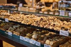 Bäckerei in Griechenland Lizenzfreies Stockbild