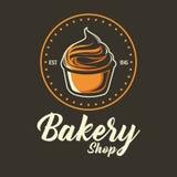 Bäckerei Logo Label Lizenzfreie Stockfotografie