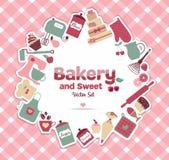 Bäckerei und Bonbon Lizenzfreies Stockfoto