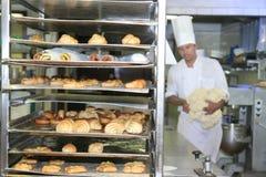 Bäckerei- und Gebäckindustrie stockbild