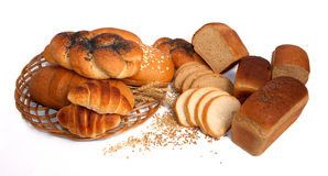Bäckerei und Getreide Stockfotografie
