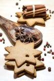 Bäckerei und Gewürze Lizenzfreie Stockfotos