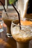Bäckerei und Kaffee Stockfotos