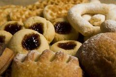 Bäckerei und Plätzchen lizenzfreie stockfotos