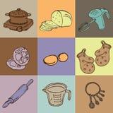 Bäckerei wendet Entwurf ein lizenzfreies stockfoto