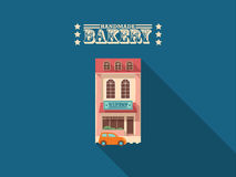 Bäckereihaus Stockfotos