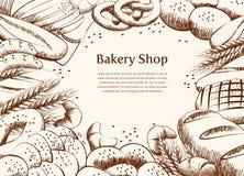 Bäckereiprodukt lizenzfreie stockfotos