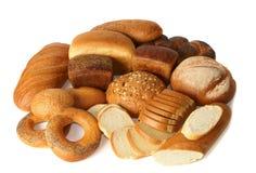 Bäckereiprodukte Stockfoto