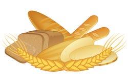 Bäckereiprodukte lizenzfreie stockfotografie