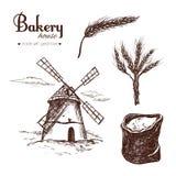Bäckereishop stellte 3 ein Lizenzfreies Stockfoto