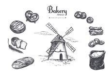 Bäckereishop stellte 2 ein Stockbilder