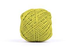 Bällchen des Seils - Gelb Stockbild