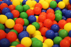 Bälle mit Vielzahlfarbe stockfotos