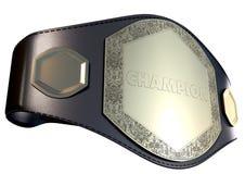 bälte för mästerskap 3D Arkivfoto