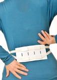 Bältestag för rygg Arkivfoton
