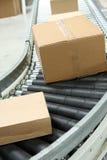 bältet boxes transportören Royaltyfri Foto