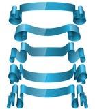 Bänder eingestellt, Vektor-Illustration Stockbild