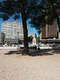 bänkparktree under Arkivbilder