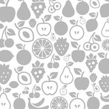 Bär frukt en bakgrund Arkivbild