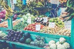 bär fruktt grönsaker marknad för bonde` s San Jose Costa Rica, tro Fotografering för Bildbyråer