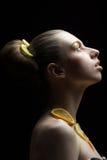 bär fruktt kvinnan Fotografering för Bildbyråer
