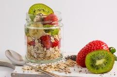bär fruktt oatmealen Arkivfoton