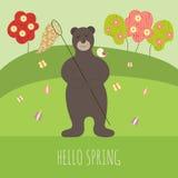 Bär im Frühjahr Lizenzfreies Stockfoto