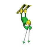 bär skieren för elementfristilberg ut Royaltyfri Fotografi