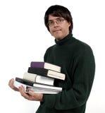 bära för böcker Royaltyfri Fotografi