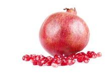 Bära fruktt sammansättning av pomegranaten Royaltyfria Bilder