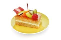 Bära fruktt tårtan Arkivfoton