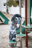 Bärande dräkt för pojke på skolan Fotografering för Bildbyråer