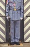 Bärande gevär 2 för tjeckisk soldat Arkivfoton