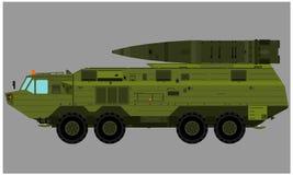 Bärande missiler för lastbil Royaltyfri Fotografi