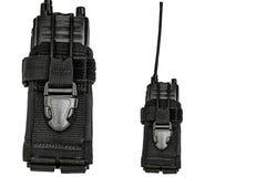 Bärande vapenfall: militärt taktiskt kassettbälte för pouc royaltyfria bilder