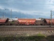 Bärare för last för Railion DB-last järnväg royaltyfria bilder
