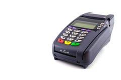 Bärbar Contactless kreditkort Fotografering för Bildbyråer