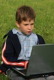bärbar dator Arkivfoto