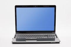 Bärbar dator - anteckningsbok - datorer - PowerBook Royaltyfria Foton