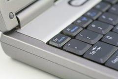 bärbar dator för datortangentbord Royaltyfria Foton