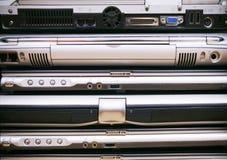 bärbar dator mycket Royaltyfri Bild