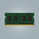 Bärbar datordator RAM Royaltyfri Foto