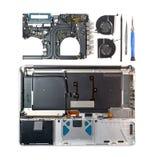 Bärbar datordel Royaltyfri Foto