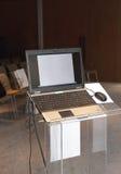 Bärbar datorkonferenspresentation Arkivbilder