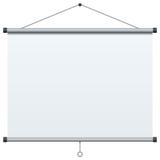 Bärbar projektionsskärm vektor illustrationer