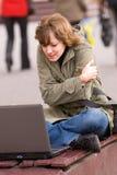 bärbar s deltagare för livstid Fotografering för Bildbyråer