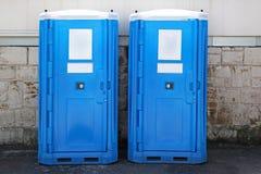 Bärbara toaletter Fotografering för Bildbyråer