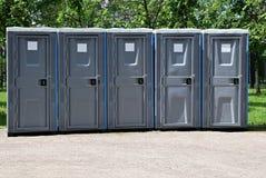 bärbara toaletter Royaltyfria Bilder