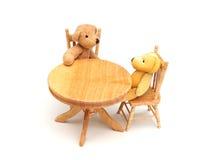 Bären in der Küche Lizenzfreies Stockfoto