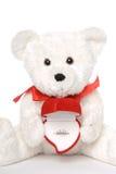 Bären-Holding-Verlobungsring 005 Lizenzfreies Stockbild